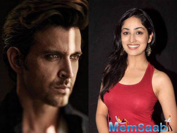 Hrithik is being paired with a lot of the newer actresses, including his next Mohenjo Daro. And now this opportunity is going to be Yami and she is very excited
