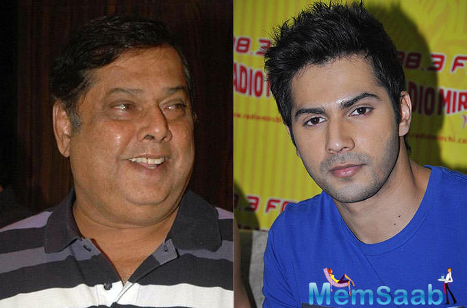 Varun will be seen playing a double role for the first time in his career,  while his papa David Dhawan will don the director's hat.