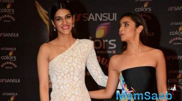 Sources told that Alia Bhatt and Kriti Sanon are roped in for Bollywood upcoming film Judwaa 2.They will be playing  the role of Rambha and Karisma in Judwaa sequel.