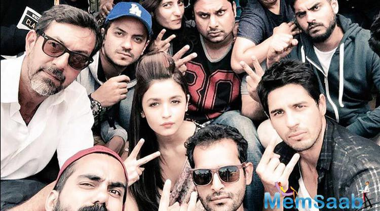 Movie  Kapoor And Sons brings together on the silver screen rumoured lovers Alia Bhatt and Sidharth Malhotra after their 2012 outing Student Of The Year.