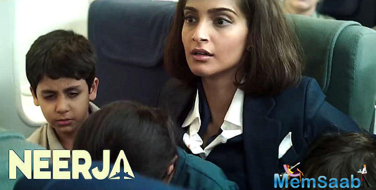 Bollywood star Sonam Kapoor said I am sincerely joined to this film. I met Neerja's mom in 2015 and it was an enthusiastic minute for me.