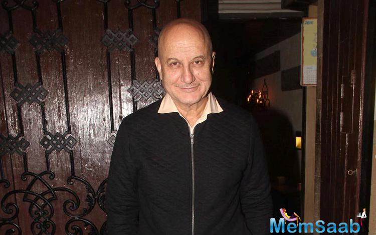 Anupam Kher played a pivotal role in the first season of 24. He was also at Anil Kapoor's party