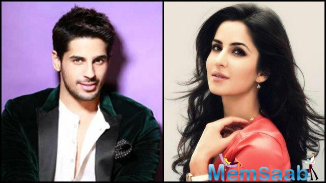 It is for the first time that actress  Katrina and  star Sidharth have been paired opposite each other in Nitya Mehra's directorial debut.