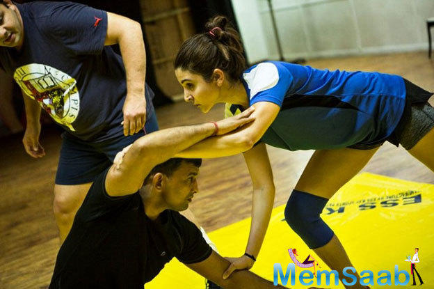 As per the report, Anushka is learning wrestling for four hours every day, because the makers expected from her to get into the skin of her character