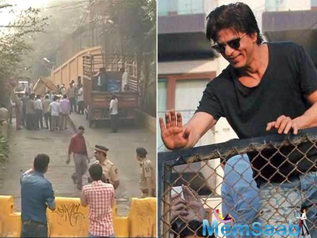 Shah Rukh had also encroached on a portion of public land for his private use. After the   demolition, the BMC served a demand notice of Rs.193, 785 on the actor as costs towards the razing of the illegal structure, or face prosecution.