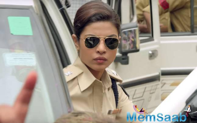 Recently, actress Priyanka Chopra  also shared behind-the-scene video from the sets of the film on Twitter