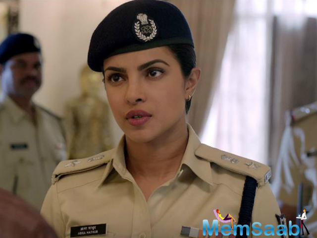 Star Priyanka Chopra who is riding high on success with her projects like Bajirao Mastani and Quantico, is back with a power-packed performance in Prakash Jha's film Jai Gangaajal.