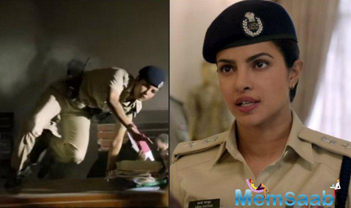 In this trailer, star Priyanka  Chopra is seen kicking the baddies and delivering some powerful dialogues.