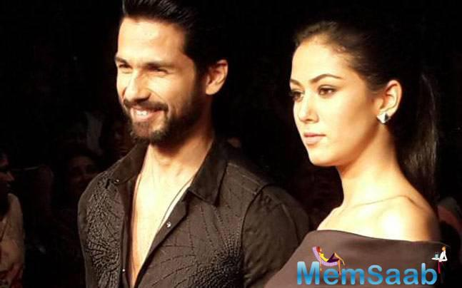 Mira Rajput, who tied the knot with Bollywood star Shahid Kapoor  last July, has all the reasons to gush about her marital life.