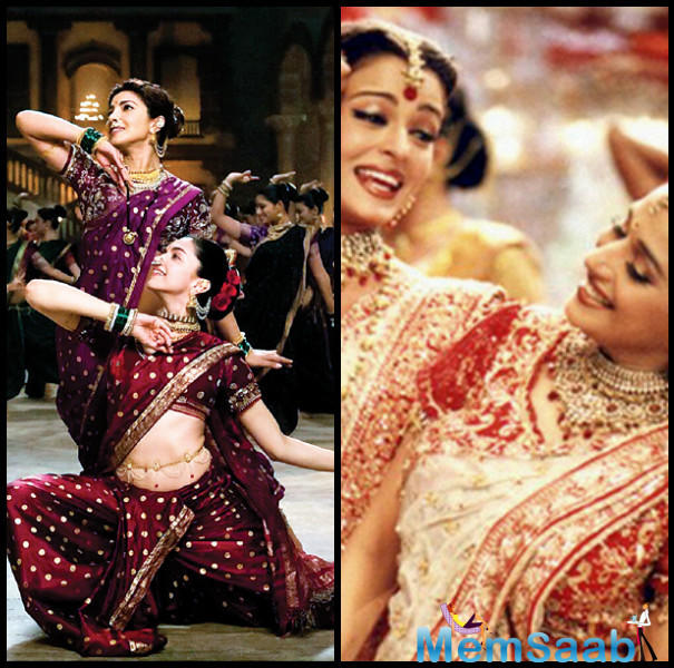 Priyanka and Deepika starrer 'Pinga' song had instantly drawn comparison to Khan's choreographed song 'Dola Re' from 'Devdas' starring Madhuri and Aishwarya for the same director Sanjay Leela Bhansali.
