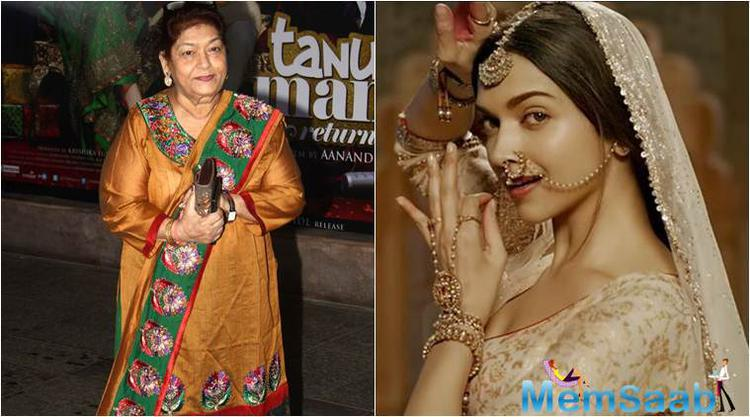 Veteran choreographer Saroj Khan praised actress Deepika for her performance in 'Bajirao Mastani' and noted that it is important to bring back elements from our culture into dance like the film showcased.