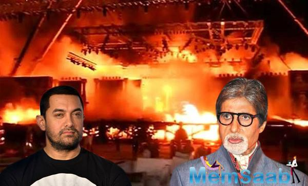 A fire broke out during the 'Make In India' event, which was inaugurated by PM Narendra Modi, and attended by many B- town celebs and Ministers.