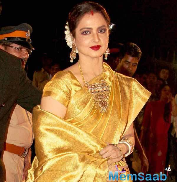 The 61-year-old Rekha is penning down her own autobiography, the book isn't likely to be a tell-all confession though. Knowing Ma'am Re, it's more than likely to be goody-goody and sweeter than vanilla fudge.