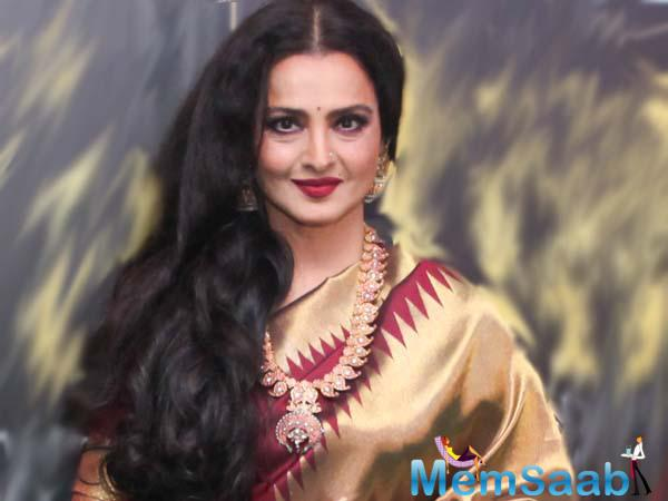 The biography supposedly will carry instances from Rekha's last fifty glorious years. With the actress sharing everything from moments to experiences, her diary is going to be a definite fillip!