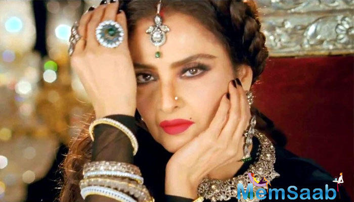 These days Rekha has been quietly putting ink to paper about her own autobiography