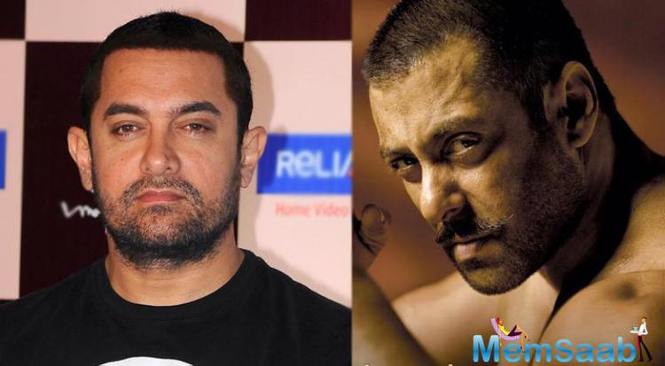 PK superstar Aamir said in a statement that he is excitedly awaiting Salman Khan's next film 'Sultan' and has a lot of expectations from this film'.