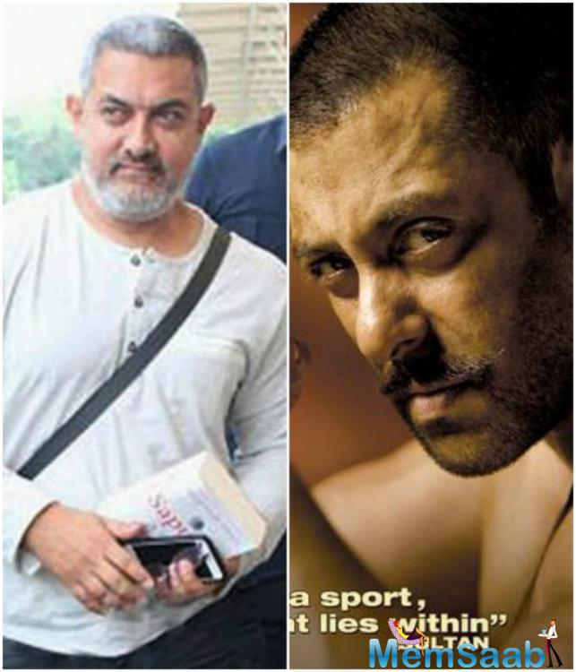 Salman Khan and Aamir Khan have been buddies for the longest time and they always showed support to each other's films.