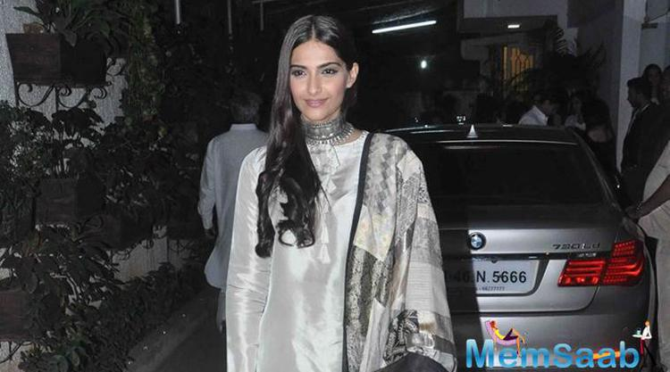 According to a report in an exclusive interview, Sonam opens up on her fear of not living up to her parents' expectations, her experience of working on Neerja and more.