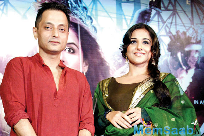 We shot for 'Te3n' and in 'Te3n' I have a special appearance, but it was still fun because Sujoy produced the film and I went back to Kolkata for the shoot, and the team was more or less the same'.