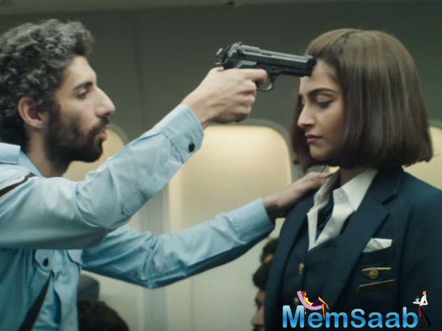 Neerja is an aviation drama biographical film starring Sonam Kapoor, who play the role of Neerja Bhanot, which is released today, but Arjun Kapoor Hesitant To Watch it.