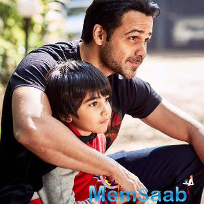 Emraan Hashmi, who has penned his struggle and hardship around his son Ayan's cancer treatment in a book