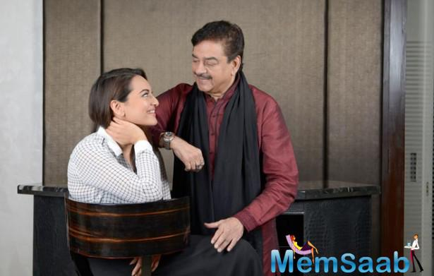 Film Lootera actress Sonakshi Sinha said that she is too scared to read her father Shatrughan Sinha's biography.