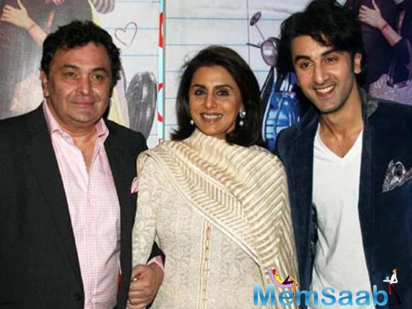 Rishi Kapoor also talked son  Ranbir's passion for films and told the leading daily,