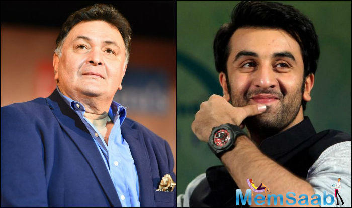 Veteran actor Rishi Kapoor will next be seen in Kapoor and Sons and Ranbir Kapoor is currently shooting for his upcoming project Jagga Jasoos.