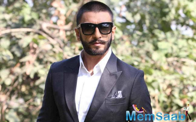 Actor Ranveer Singh says that style is an expression and that people should express themselves without any filter.