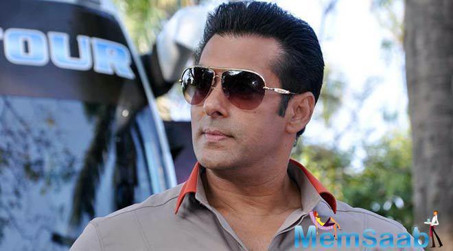 """Regarding his upcoming film, Sultan, he said, """"It is a tough film but it is progressing well."""""""