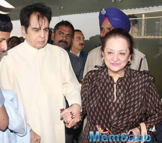 The senior actress Saira Banu states that he shouldn't be bogged down with such worries at this age.