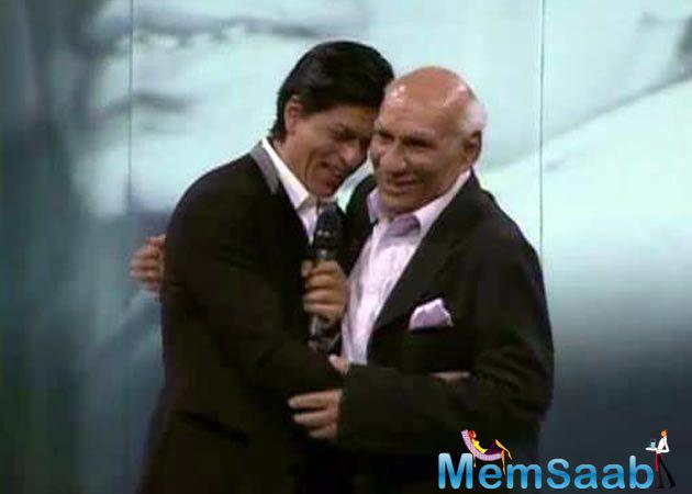 SRK confessed he was Yash Chopra's 'eternal fan.' Two of them worked together in a string of blockbusters including Dil Toh Pagal Hai, Veer Zaara and Jab Tak Hai Jaan.
