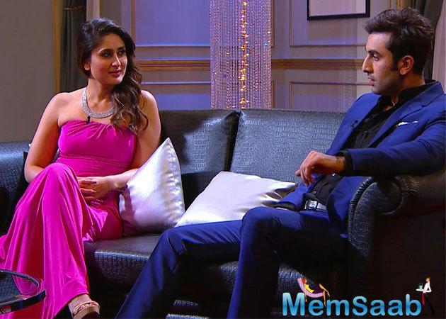 In an interview to Filmfare, Kareena Kapoor said,