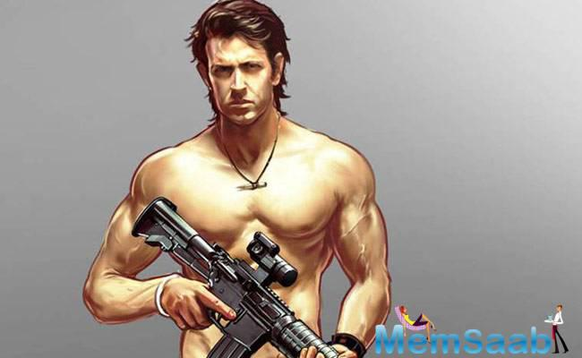 Hrithik Roshan to work on creating games for his fans and make games on his action-filled onscreen life in Bollywood.
