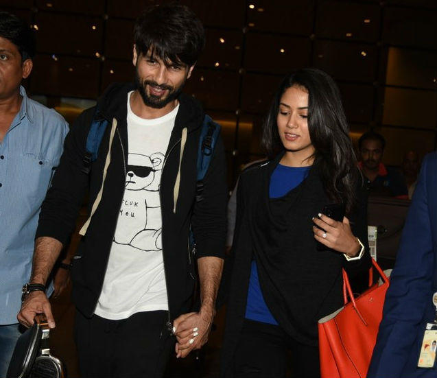 As per the report, Mira was planning a surprise party for Shahid at their home, but it has been revealed that the couple has flown to an undisclosed location to ring in Shahid's 35th birthday.