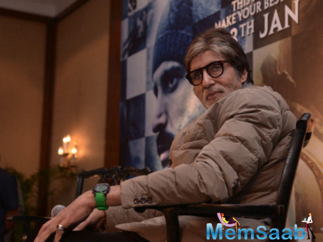 The 73-year-old Amitabh Bachchan took to twitter to give his well-wishers an update on his health.