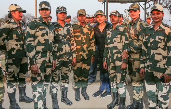 As per the reports, the makers haven't been granted the permission to shoot at the Attari Border yet and have been trying to get approval from BSF Jawans. The team is stuck in Amritsar for the last 20 days.