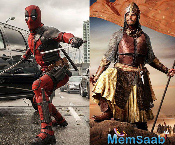 Deadpool is not just a wisecracking guy hiding behind a mask; he can also kick ass in style! Ranveer Singh will can portray himself as a natural warrior in Bajirao Mastani, and is willing to train himself to get the act right.