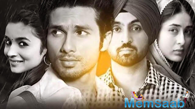 It's going to release in June, also stars  Alia Bhatt, Shahid Kapoor and Prabhjyot Singh.