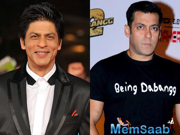 The superstar Salman Khan tweeted, 'Salman Khan being a fan of Shah Rukh Khan!' Yes! This happened. Can you believe it?