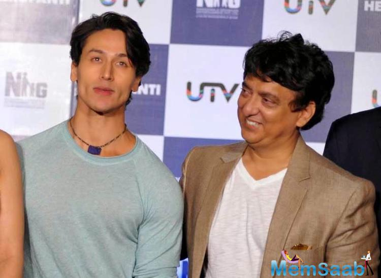 Producer Sajid Nadiadwala also sent in his greetings with a tweet to Tiger Shroff