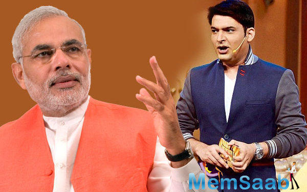 If Mr. Modi will come on their show, they will talk about politics and journey of Mr Modi, Kapil feels the story of PM Narendra Modi is truly inspirational.