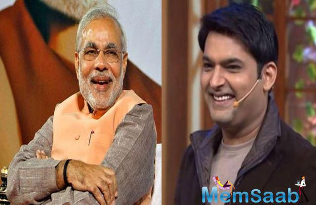 Kapil Sharma said that, he wishes to have the PM on their new show (The Kapil Show), as he feels politicians also should connect to common people.