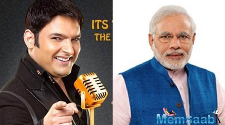 Kapil Sharma, who gearing up for his new show on Sony channel, have a wish to PM Narendra Modi As A Guest On His New TV Show 'The Kapil Sharma Show'.