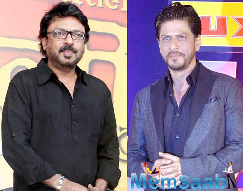 Director Sanjay Leela Bhansali and Shah Rukh Khan, who had worked together in Devdas, 14 years back, a news on the air that they might come together for a film.