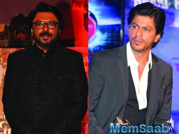 From a source it seems, Shah Rukh is willingly waiting to work again with Bhansali. In fact, he even requested SLB to direct a film, which could be co-produced by them.