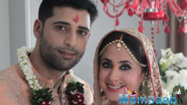 She secretly got hitched on Thursday evening to a Kashmiri based businessman cum model, Mohsin Akhtar.