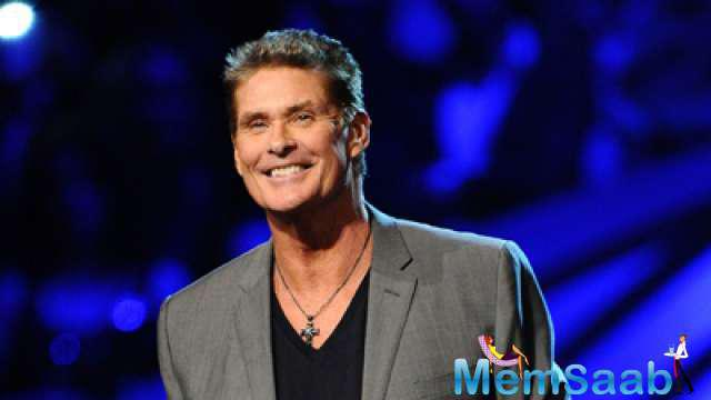 Dwayne recently introduced his co-star David Hasselhoff, better known as 'The Hoff'.