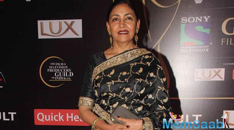 Deepti Naval, who is a prominent face in the entertainment industry for the last three decades, will be seen playing a singer in the forthcoming TV show 'Meri Awaaz Hi Pehchaan Hai.