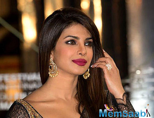 Except for the trailer launch of Jai Gangaajal, Priyanka Chopra was not seen for any of the events related to the film.